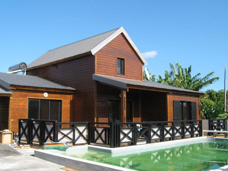concept habitat bois industrie fabrication de maison ossature bois la r union On construction chalet en bois 974